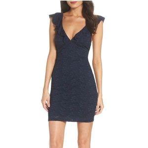 Lulus Deep V Dress NWT